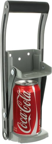Ram-Pro 12 oz Aluminum Can Crusher & Bottle Opener