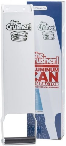 The Crusher, Pacific Precision Metals Aluminum Can Compactor