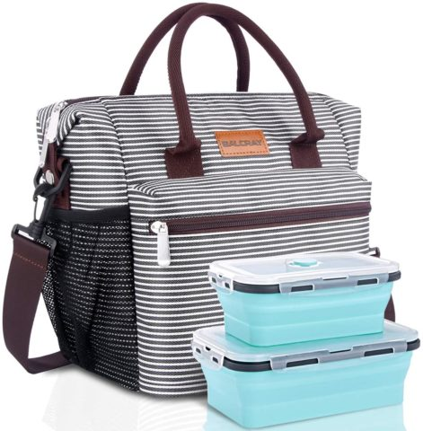 BALORAY Large Insulated Lunch Bag