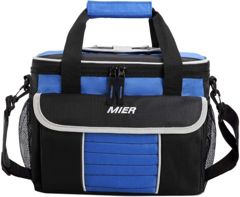 MIER Large Soft Cooler Bag Insulated Lunch Box Bag