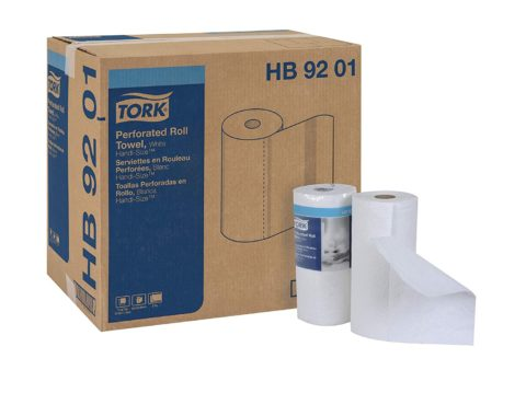 Tork HB9201 Handi-Size Perforated Paper Roll Towel