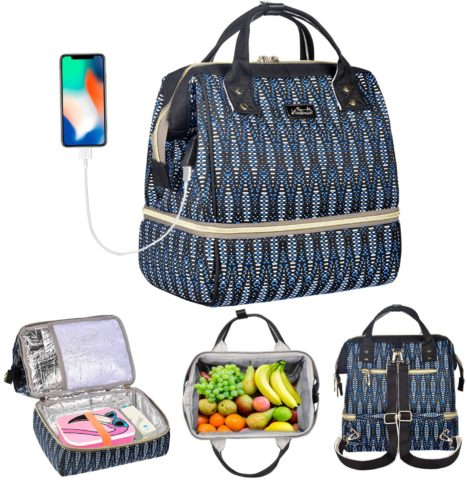 Viedouce Insulated Lunch Bags