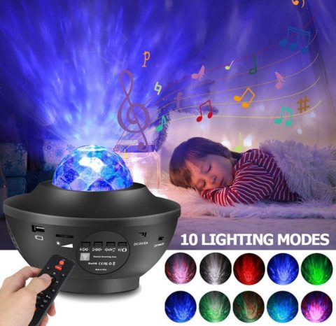 Star Projector Night Light Projector