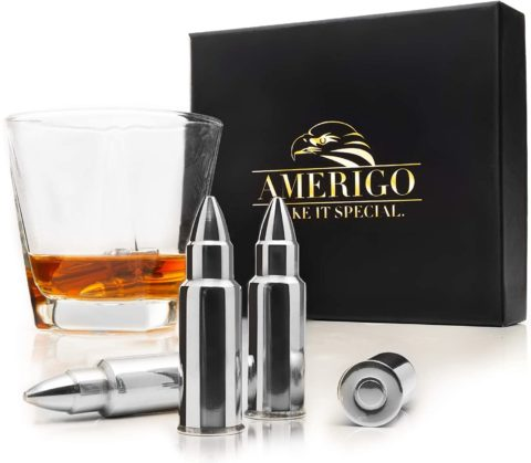 Whiskey Stones Bullets with High Cooling